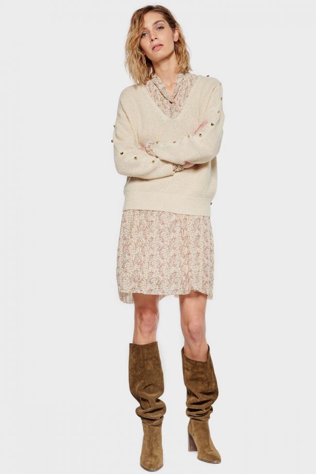 Cream Sibel pullover