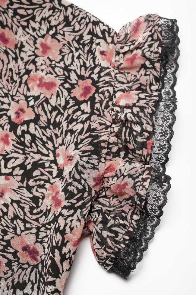 Pink floral Angiegi dress