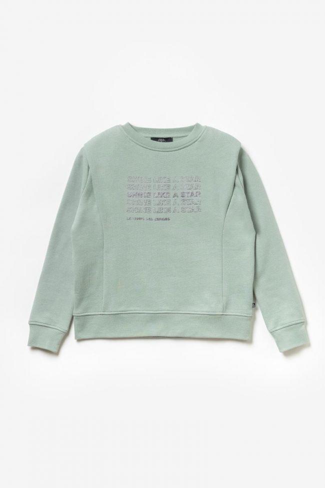 Printed aqua Bunkergi sweatshirt