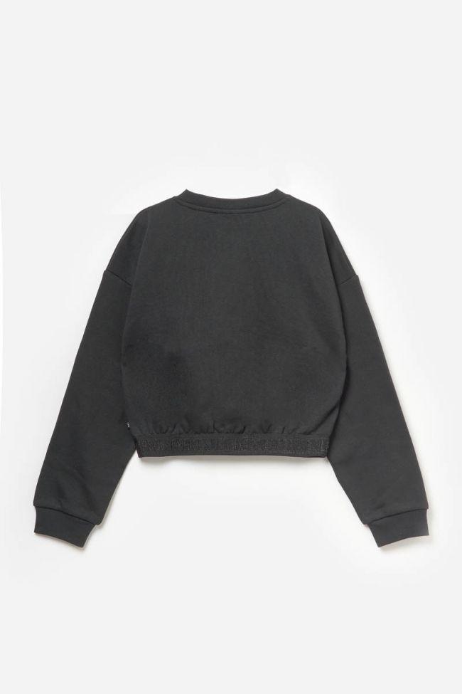 Sweat Finlaygi noir imprimé