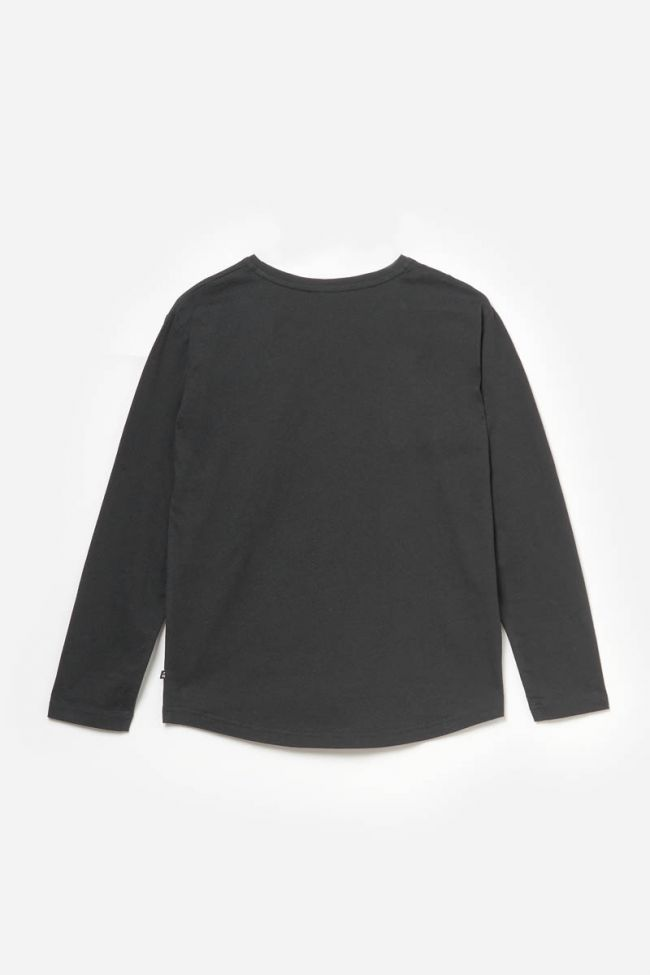 T-shirt Fionagi noir imprimé
