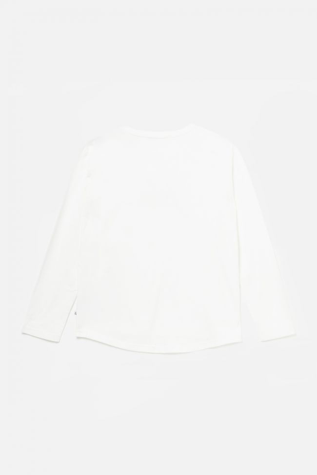 Printed cream Fionagi top