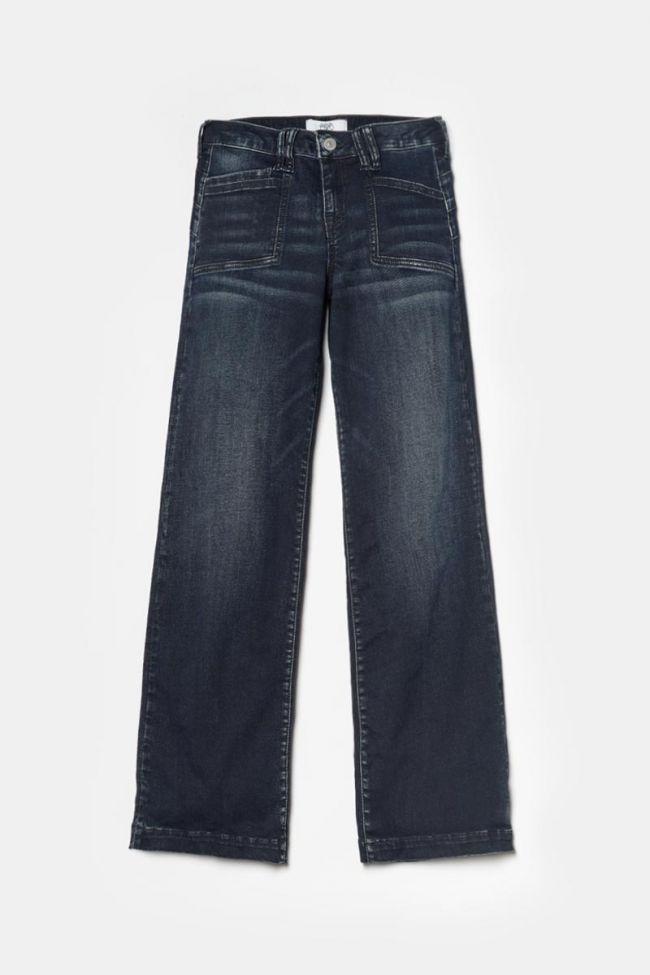Blue-black Flare jeans N°2