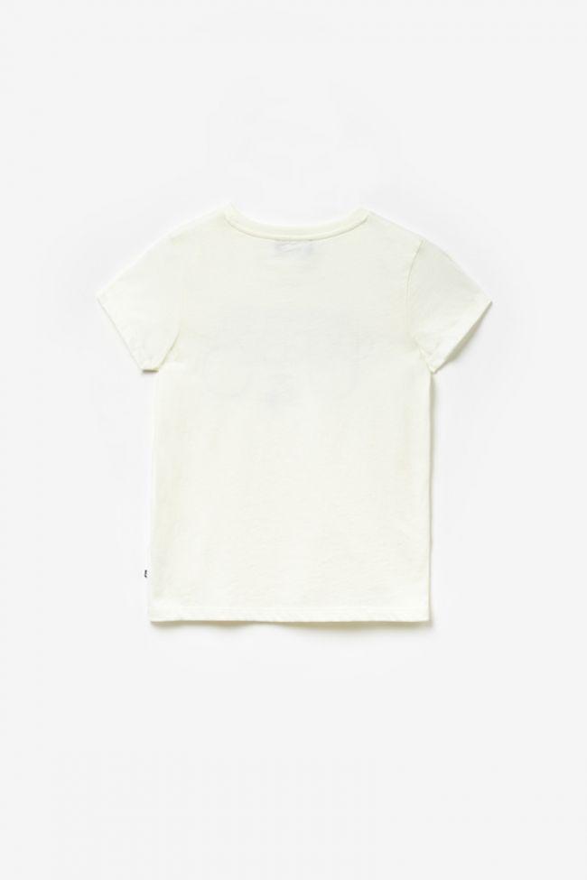 T-shirt Harleygi crème imprimé