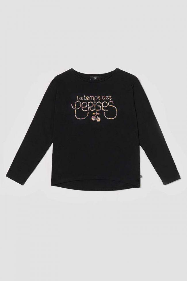T-shirt Mazegi noir