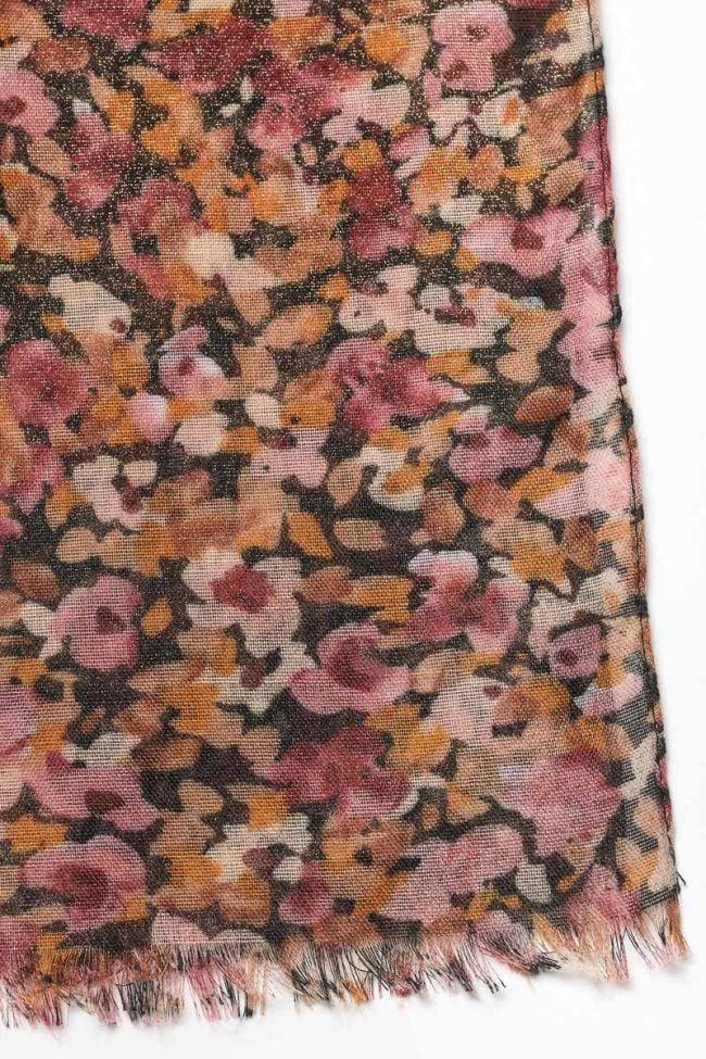 Pink floral Musegi scarf