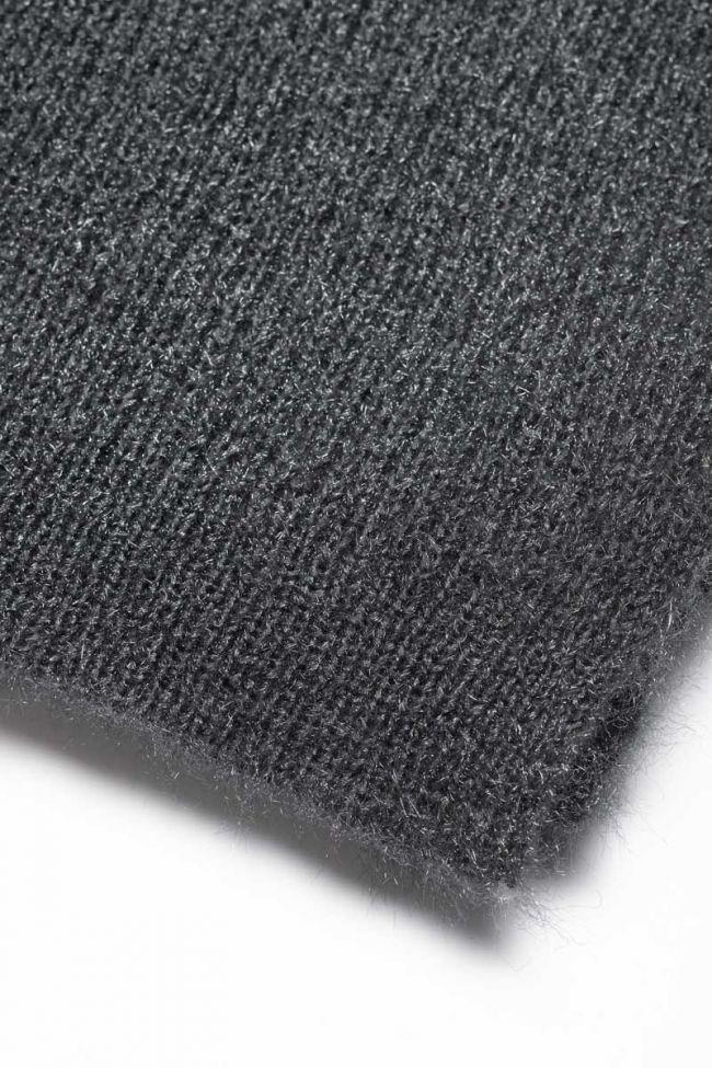 Charcoal grey Sajagi scarf
