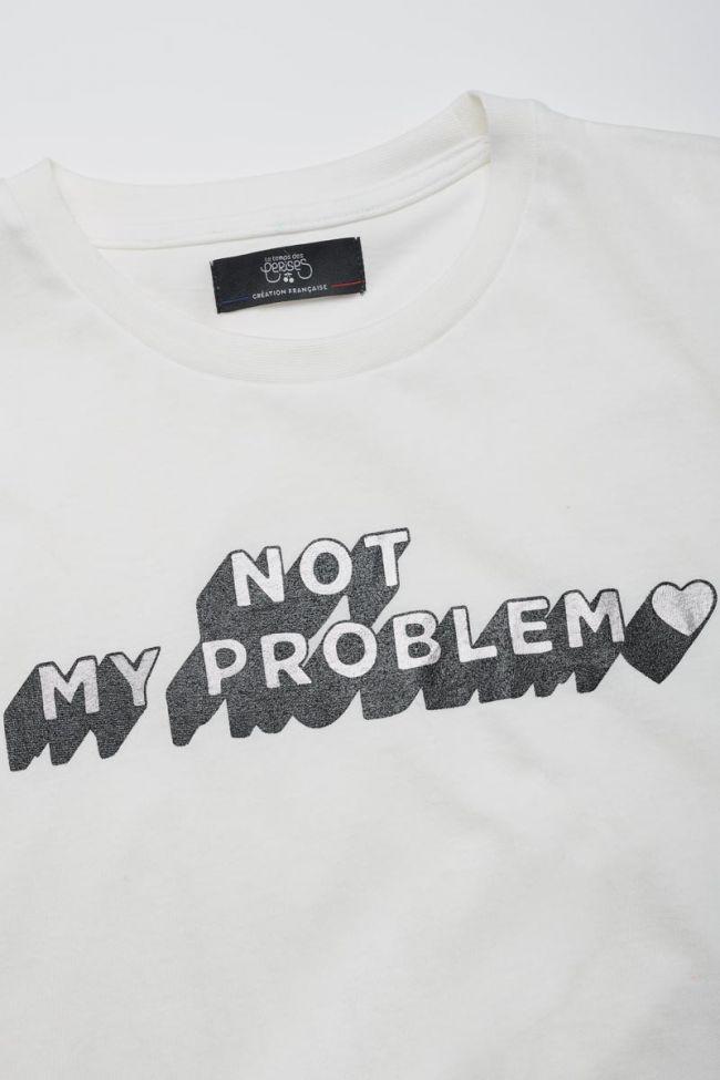 T-shirt Soegi crème imprimé