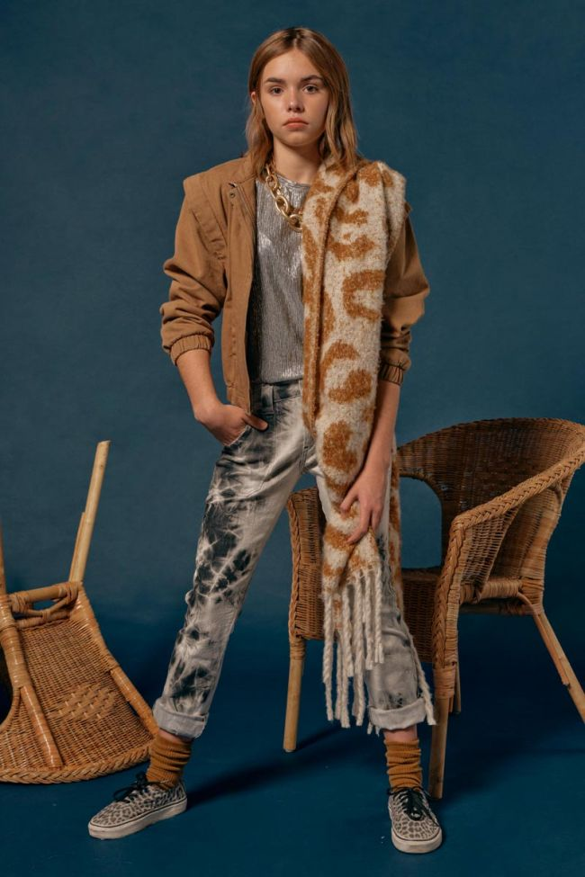 Brown Solengi scarf