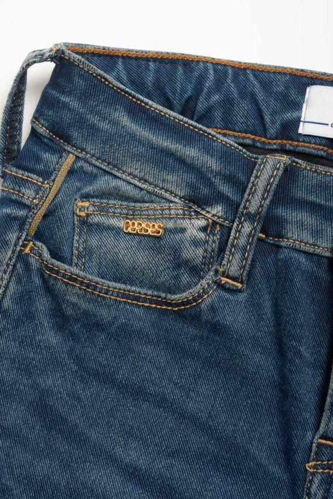 Ultra power high waist skinny jeans blue N°2
