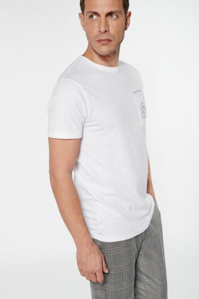 Embroidered white Boly t-shirt