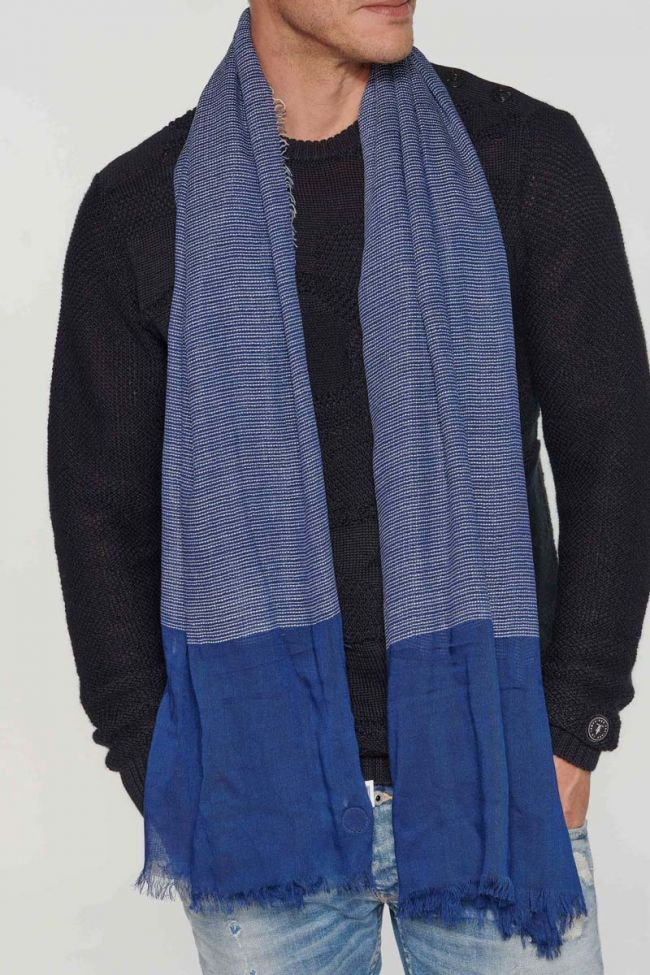 Navy blue Botar scarf