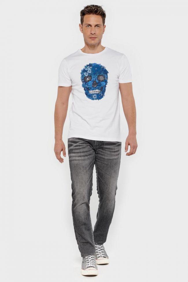 T-shirt Colima blanc imprimé