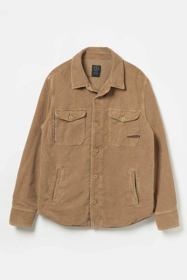Camel velvet Mank jacket