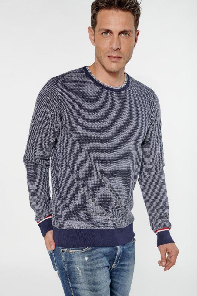 Navy blue Matal pullover