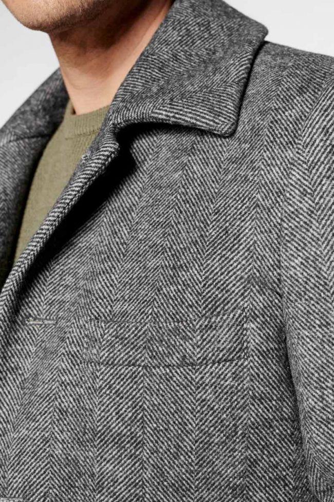 Grey Medil coat