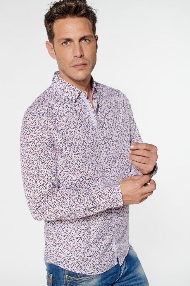 White floral Pavar shirt