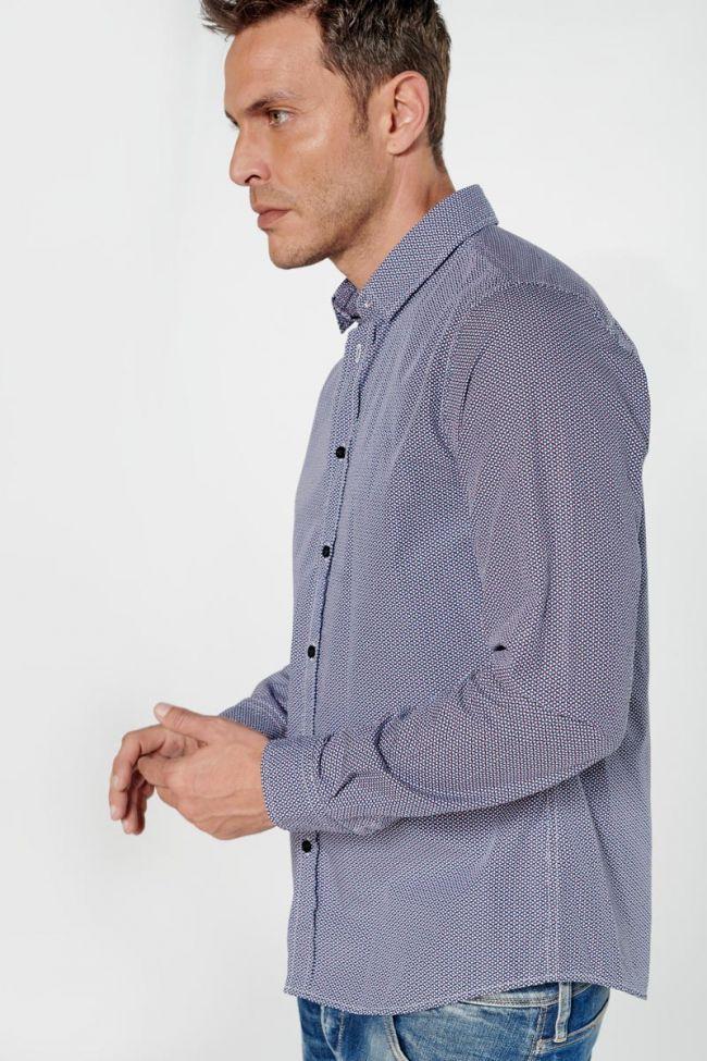 Graphic navy blue Pisto shirt