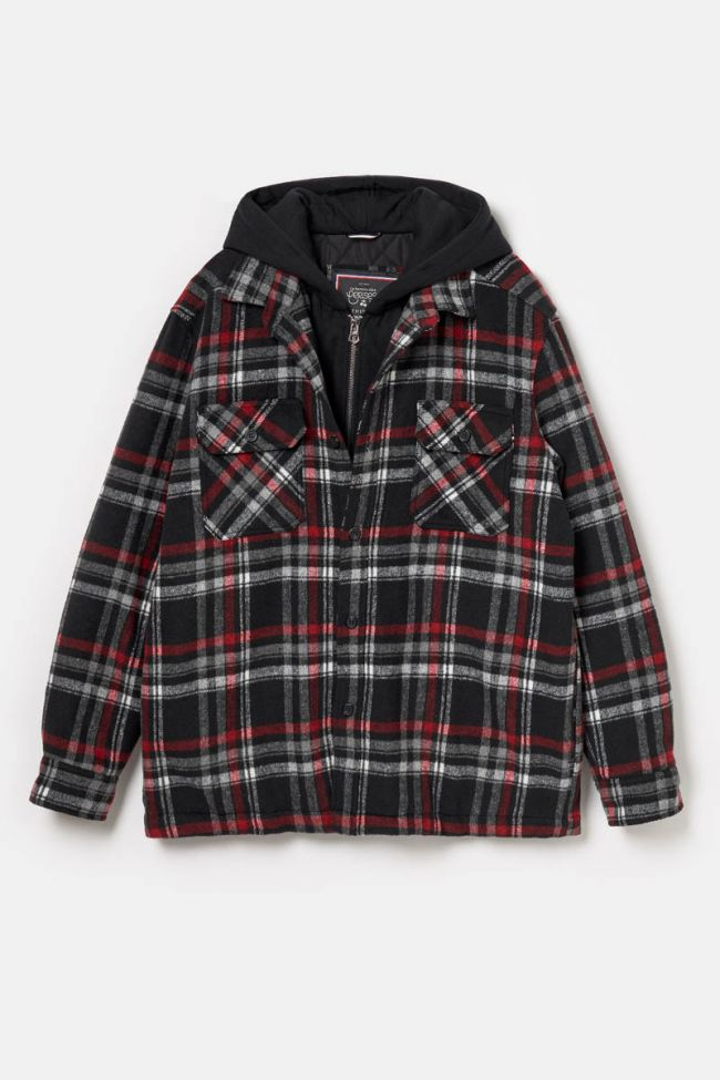 Black and red checked Vaty jacket