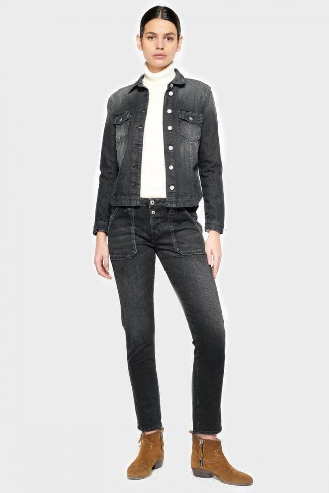 Cara 200/43 boyfit jeans noir N°1