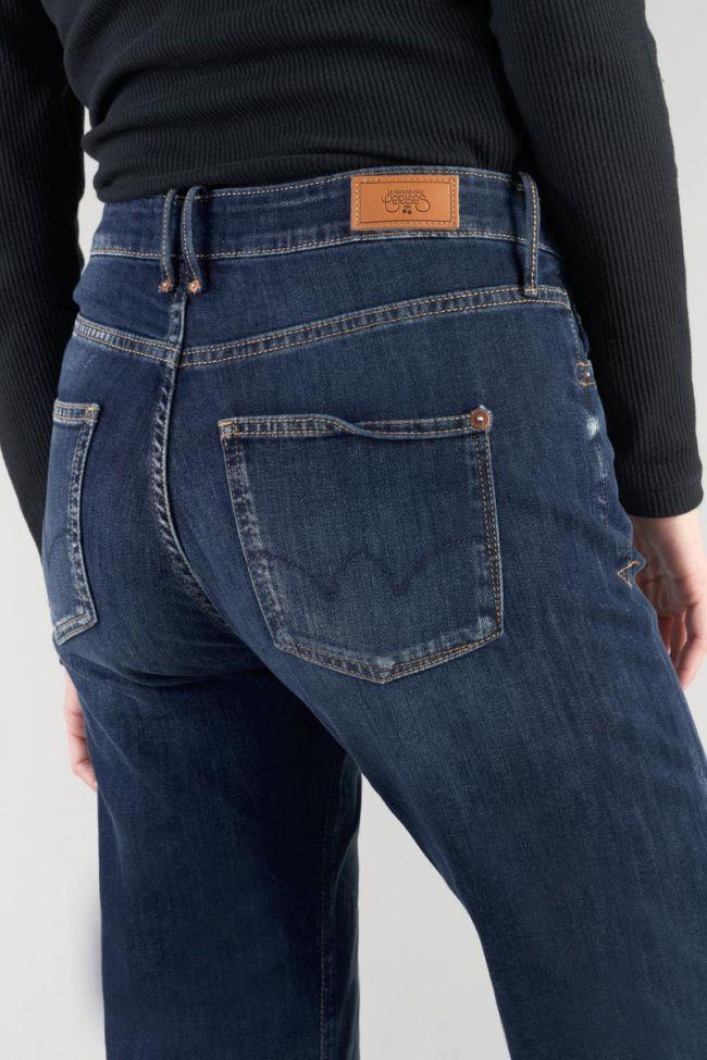 Basic 400/18 mom taille haute 7/8ème jeans bleu N°1
