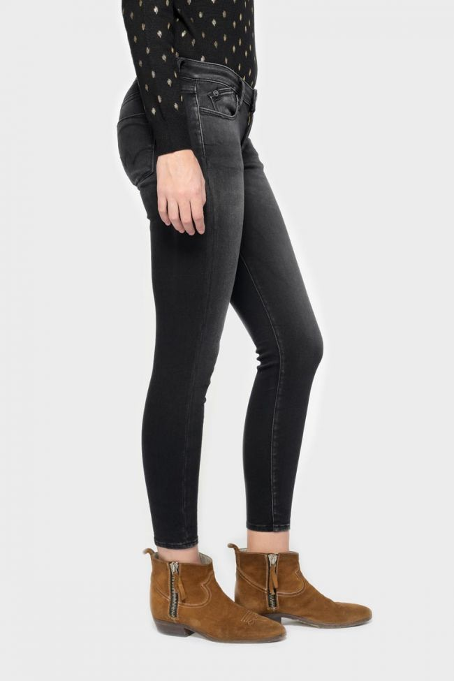 Coro ultra power skinny 7/8ème jeans noir N°1