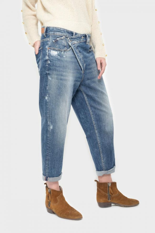 Blue distressed boyfit Cosy jeans N°4