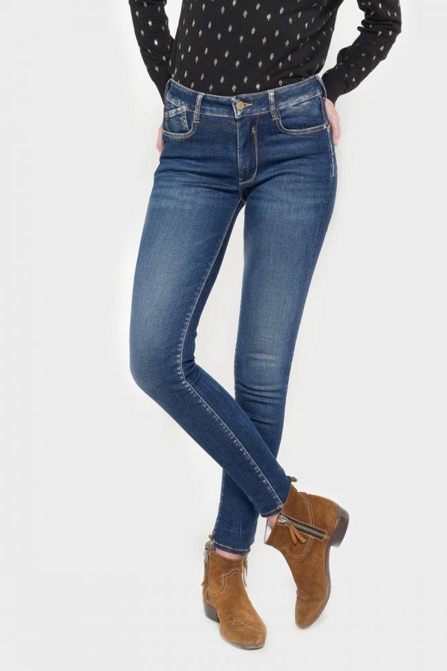 Olbia pulp slim taille haute jeans bleu N°2