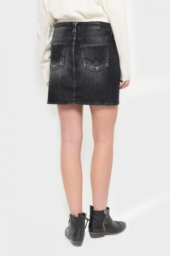 Jupe Palma en jeans noir