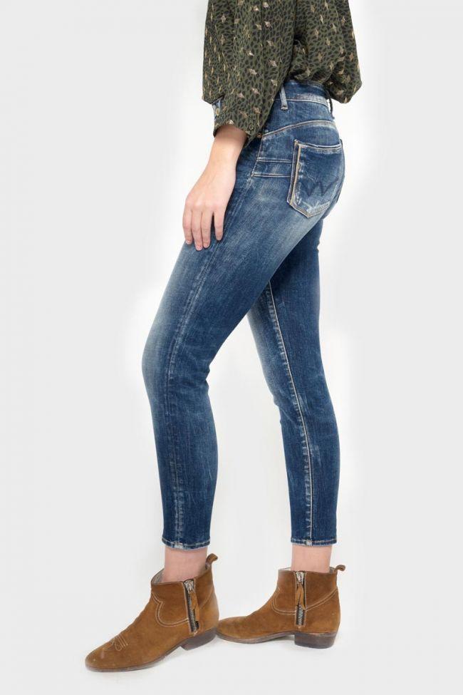 Rho pulp slim taille haute 7/8ème jeans bleu N°2