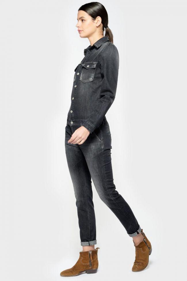 Combinaison Sena en jeans noir