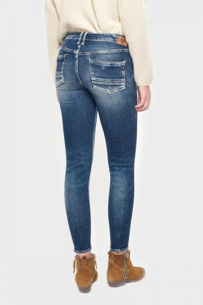 Tiapa power skinny 7/8th jeans destroy vintage blue N°2