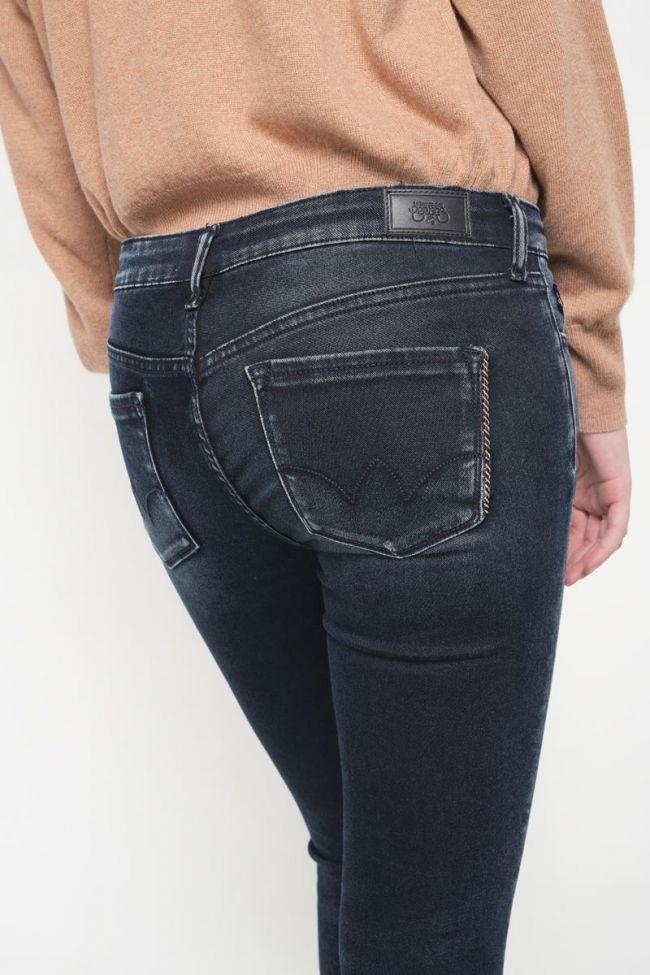 Tici ultra power skinny 7/8th jeans blue-black N°2