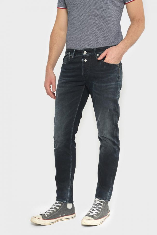 Santos 600/17 adjusted jeans destroy bleu-noir N°1
