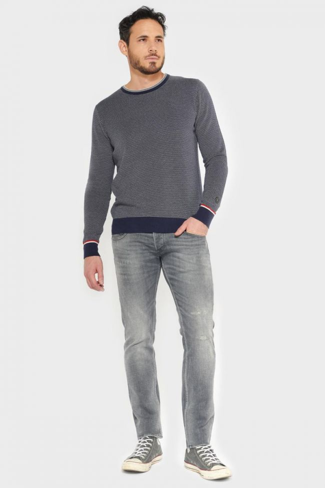 Dubbo 700/11 slim jeans destroy gris N°3