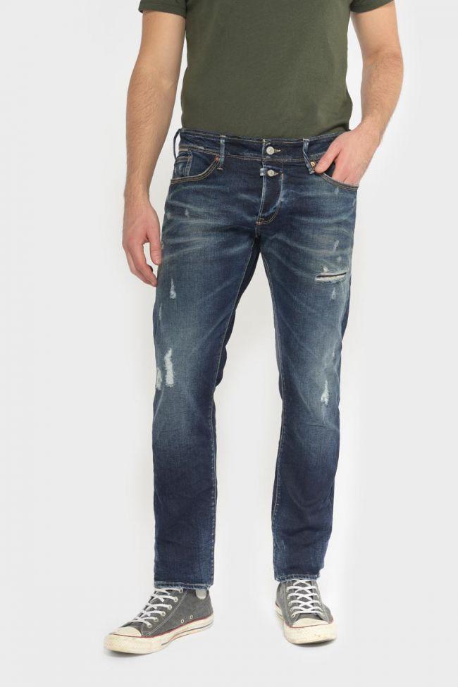Groov 700/11 slim jeans destroy vintage bleu N°1