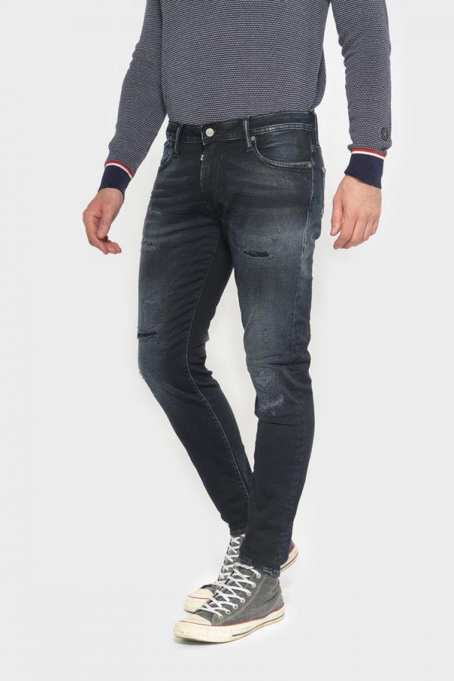 Jogg 700/11 slim jeans destroy blue-black N°1