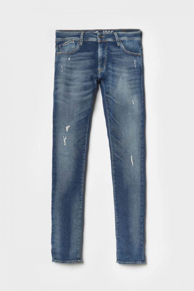 Jogg 700/11 slim jeans destroy vintage bleu N°2