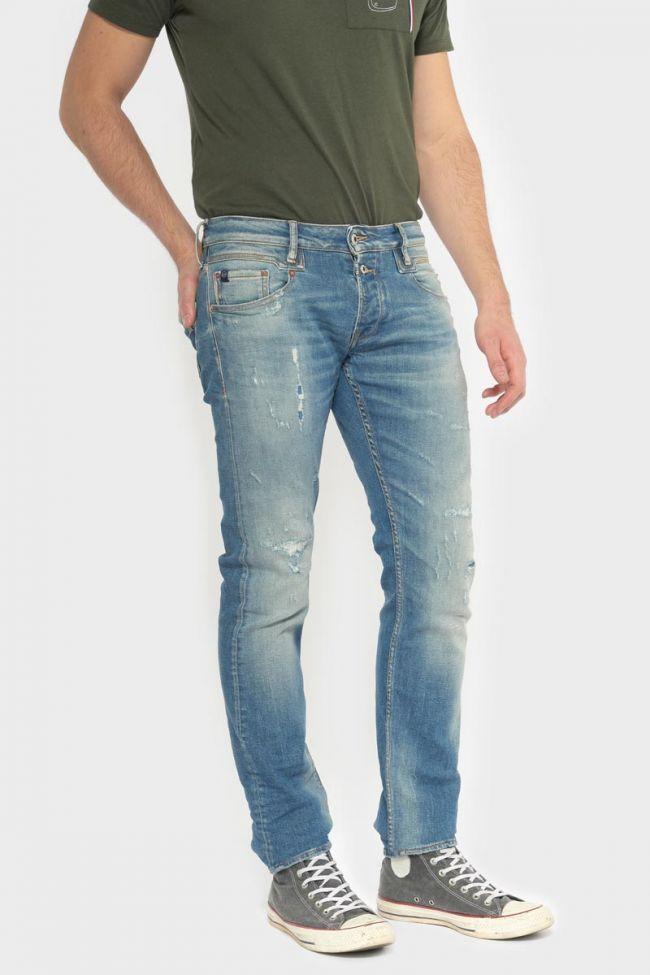 Winkler 700/11 slim jeans destroy vintage blue N°3
