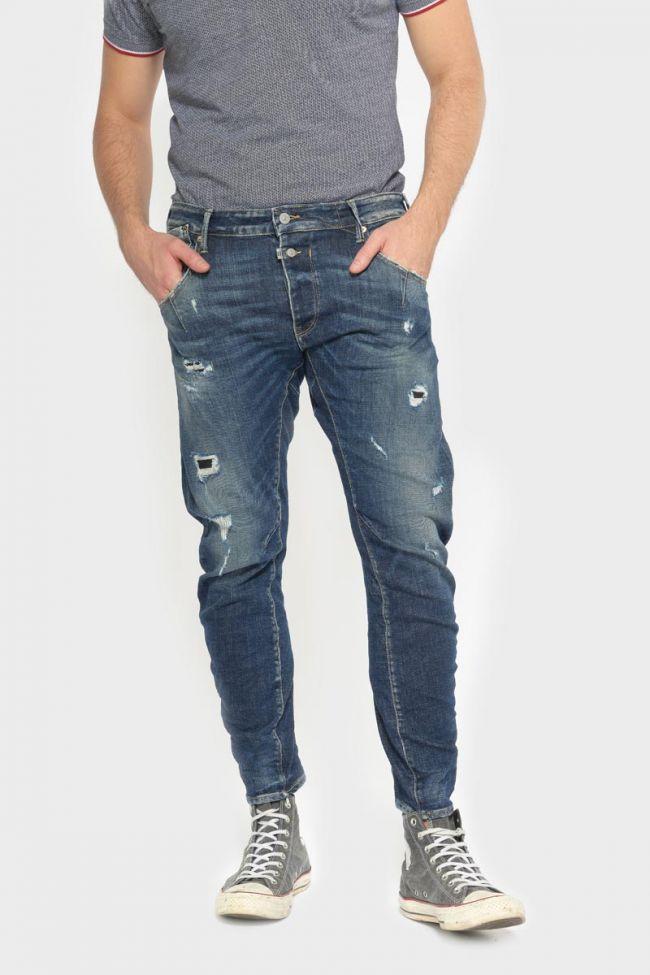 Alost tapered arqué jeans bleu N°2