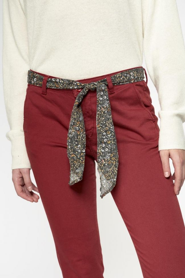 Red Lidy trousers