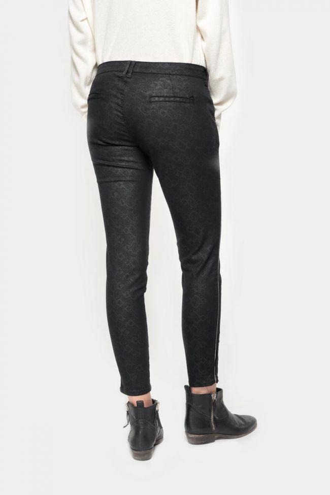 Pantalon Rommy à motif serpent