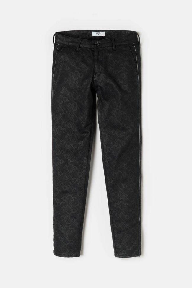 Snakeskin-pattern Rommy trousers