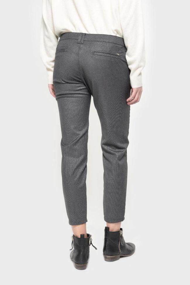 Pantalon Vittoria brillant gris