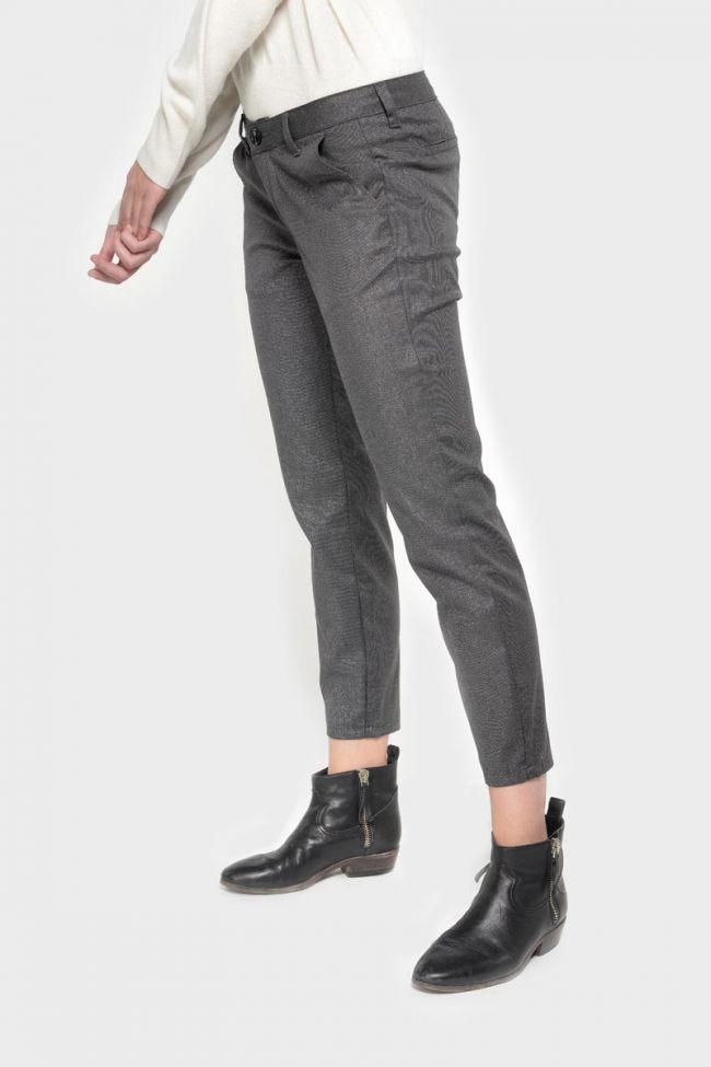 Shiny grey Vittoria trousers