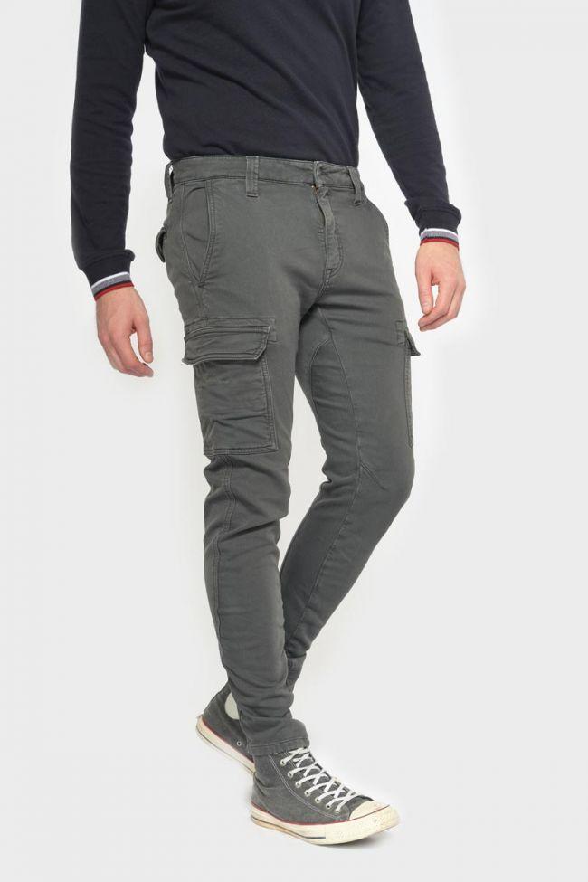 Pantalon Durbuy tapered arqué anthracite