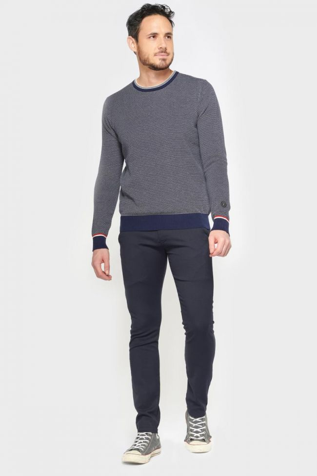 Blue and black Fano trousers