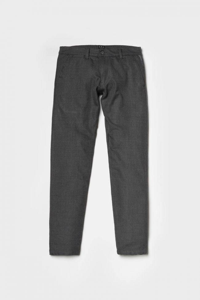 Grey checked Prato trousers
