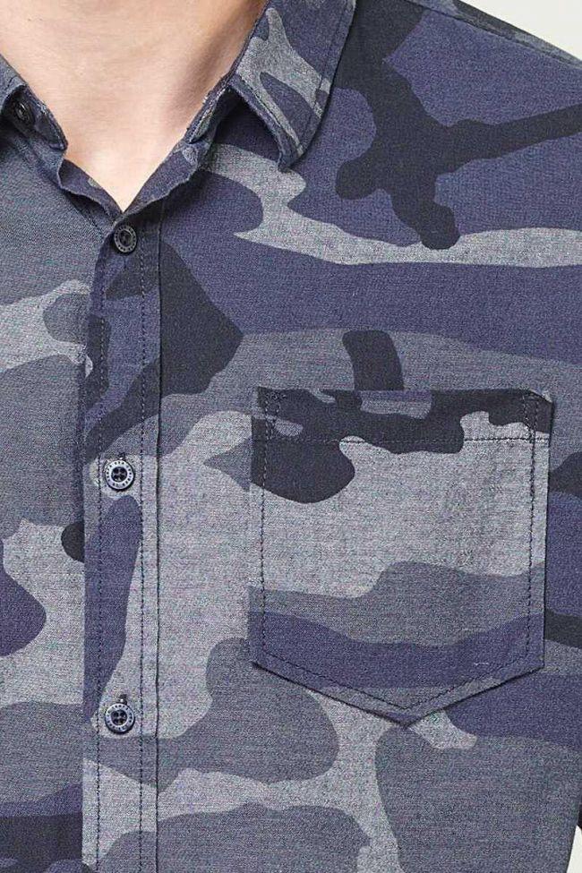 Camo blue Ulysse shirt