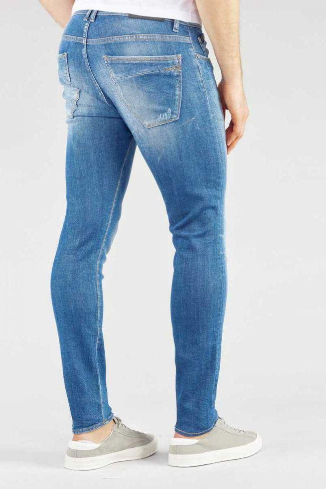 Jeans 700/11 Power skinny bleu délavé